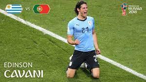 Edinson CAVANI Goal - Uruguay v Portugal - MATCH 49 - YouTube