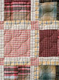Two Tartan Quilts Finished & MacLachlan-det-4 Adamdwight.com