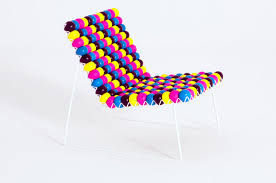 colorful furniture. colorful antistress low chair furniture design by bashko trybek poland i