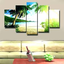 island wall decor brilliant cheerful wall art wooden an island canvas metal beach within an wall