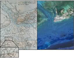 Old Nautical Charts Show Reef Decline Over Time X Ray Mag