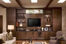 Images interior design tv Living Room Brown Wall Unit And Lcd Cab Aamphaa Projects Lcd Tv Cabinet Designs Furniture Designs Al Habib Panel Doors