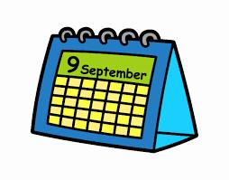 Dessin de Calendrier de bureau colorie par Membre non inscrit le 03 de Août  de 2020 à Coloritou.com