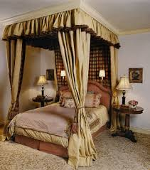 Stylish Curtains For Bedroom Stylish Canopy Bed Curtains New Home Plans