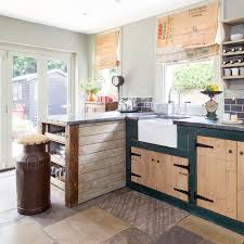 vintage kitchen furniture. Characterful-kitchen-upcycled-furniture-vintage-finds-4 Vintage Kitchen Furniture Ideal Home