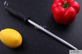 Стальной <b>мусат</b> для правки ножей <b>Flugel Flugel</b> 20 см <b>FL4010</b> ...