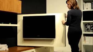 Pannello porta tv lcd orientabile free view di astor youtube