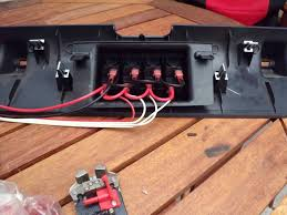 rigid radiance wiring problem jeep wrangler forum so the red and black go to the battery fused 2 amp fuse and the white is for turning on the lights accessories the led s will turn on and off