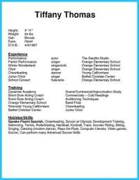 nice outstanding acting resume sample to get job soon check more at http beginner acting resume sample