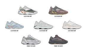 Yeezy Size Chart Uk The Ultimate Yeezy 700 Sizing And Fit Guide Farfetch