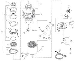 repair parts for insinkerator badger 1 and badger 5 garbage disposers parts for insinkerator disposals badger 1 and 5