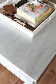 Lime Wash Coffee Table How To Paint Furniture With A Car Wash Sponge Refunk My Junk
