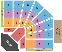 Georgia Mountain Fairgrounds Seating Charts For All 2019