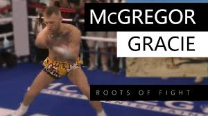 Conor McGregor - Rickson Gracie   You must have the limbs free ...