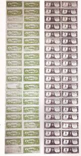 moving money essay warhol s dollar bills