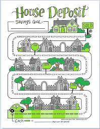 House Deposit Savings Game Chart