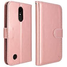 LG K20 V Case, Plus Harmony LV V5 K10 2017 LK Luxury PU Leather Wallet Flip Protective Case Cover with Card Slots and