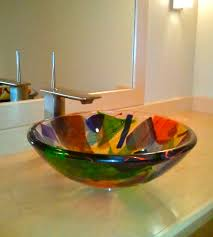 glass sink bowl care guide