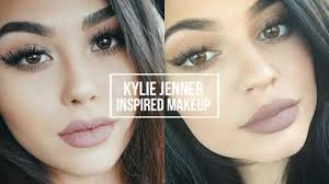 kylie jenner inspired makeup tutorial natural smokey eye clic kylie lip roxette arisa you