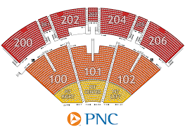 Mariners Seating Chart Prices Pnc Pavilion Seating Chart Map Seating Charts Pavilion