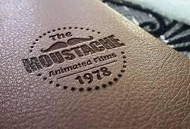 Logo Mock Up Leather Stamping Logo Mockup Graphicsfuel