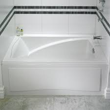rectangle bath with removable front a