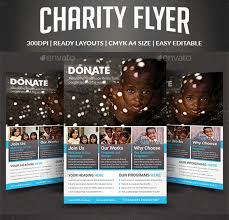 Flyers For Fundraising Events Charity Fundraising Flyer Template Nice Charity Event Flyer