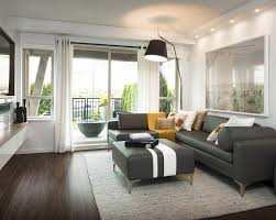 Furniture Impressive Gray Color Scheme Living Room Decorating