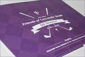 Golf Tournament Brochure On Behance