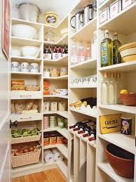 inspiration for a large traditional l shaped kitchen pantry in new york with open cabinets