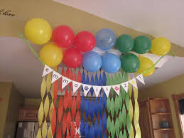 Balloon Decoration Ideas For Birthday Party At Home In India Simple Balloon Decoration Ideas At Home