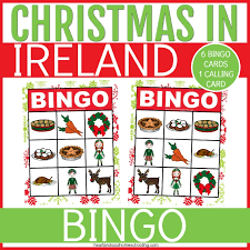 You can have your child pick up a card and then she will need to describe it. Christmas In Ireland Printable Activity Pack Heart And Soul Homeschooling
