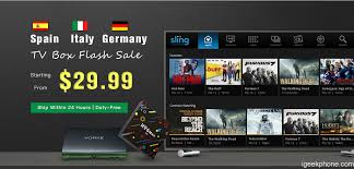 Start Boxes Geekbuying Start A Tv Boxes Mini Pc Flash Sale For Italy Spain