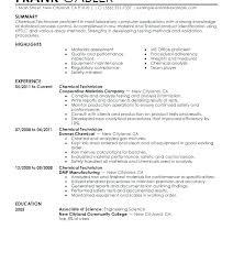 Entry Level Chemist Resume Nmdnconference Com Example Resume And