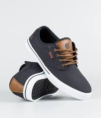 Etnies Jameson 2 Eco Shoes Navy Tan White