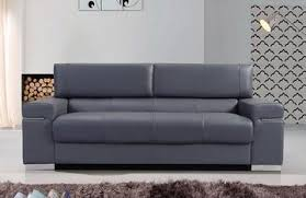 Modern leather couch Sectional Vista Gray Modern Leather Sofa Inmod Leather Sofas Buy In Modern Furniture Store Fairfield Nj