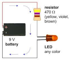 9v to led wiring diagram wiring diagrams best a schematic a 9v battery 470 ohm resistor and a single led of wiring led lights in car 9v to led wiring diagram