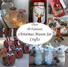 Christmas Decorated Mason Jars OVER 100 CHRISTMAS MASON JAR IDEAS Idees And Solutions 7