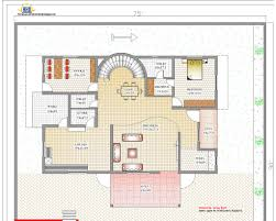 duplex house plan and elevation 4217 sq ft indian home decor