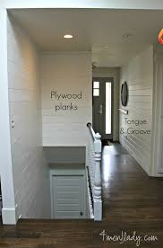 Plywood Plank Ceiling Plank Wall Reveal