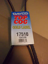 Dayco Gold Label 17510 Top Cog V Belt For Amc American