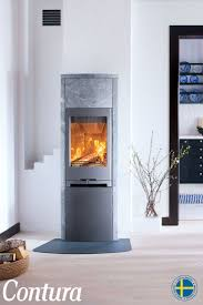 CONTURA 790T | This wood stove is fully clad in natural heat retaining  soapstone. Choose
