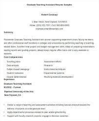 Sample Teacher Assistant Resume Teacher Assistant Resume Examples Radiovkm Tk