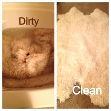 sheepskin rug cleaning tips and tricks how to clean sheepskin rugs at home wash in tub with sheepskin rug cleaning s