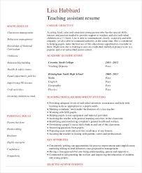 57 Impressive Student Teaching Resume Samples Template Free