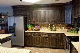 image of refinishing kitchen cabinet