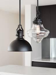 beacon pendant lighting with hamilton 1 light pendant in black 0