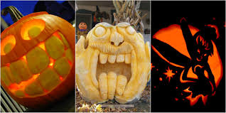 Use Pumpkins To decorate your House for Halloween ...
