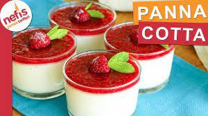 Dünyanın En Hafif Tatlısı PANNA COTTA - YouTube