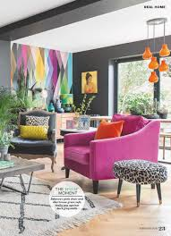 bright colorful home. Bold Living Room In Bright Color Scheme Colorful Home T